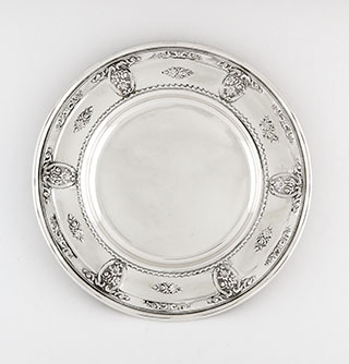 #16599 - Rose Point by Wallace BREAD BUTTER PLATE #4600-9