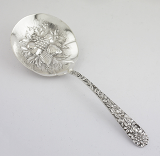#6827 - Repousse by Kirk BONBON OR NUT SERVER
