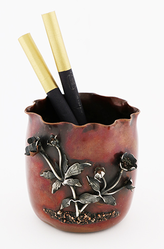 #86536 - Mixed Metal by All Makers GORHAM #Y280-O  CIG URN