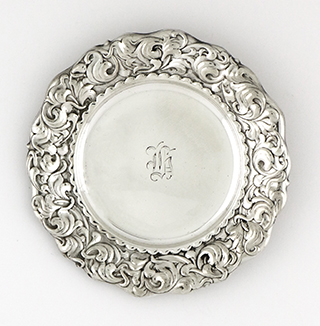 #93048 - Mint Dishes by All Makers WHITING #2388 Scroll Border Various Mono