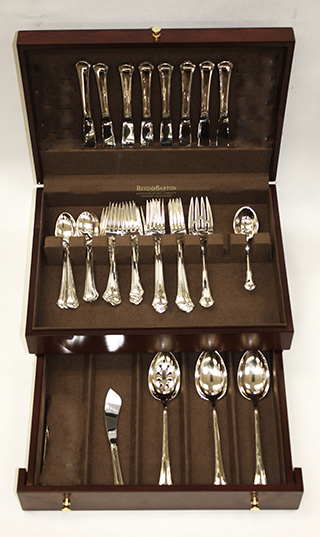 #739 - Chippendale by Towle 46 PIECE SET-PLACE SIZE+SERVERS