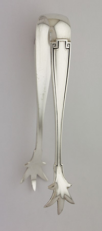 #44889 - Etruscan by Gorham SUGAR TONGS 4 3/8""