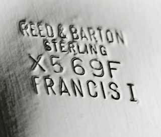 #47303 - Francis 1st by Reed & Barton BONBON #X569F FOOTED