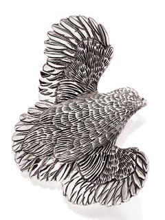#55470 - Pins by Grainger Mc Koy PIN #17001 QUAIL SILVER