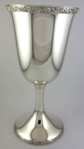 #80870 - Goblets by All Makers HIRSCH #25X FLORAL BAND