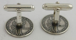 #81643 - Cufflinks by Tokens & Icons TOKEN #8M MERCURY