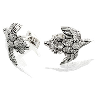 #84069 - Cufflinks by Grainger Mc Koy CUFFLINKS DOVE PR  #CSDV13401