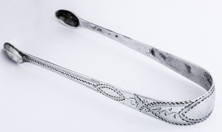 #84821 - English Silver by All Makers SUGAR TONGS WM SUMNER II C1790