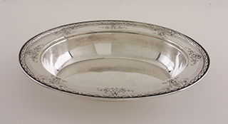 #88192 - Covered Vegetable Dish by All Makers GORHAM #A102091 Covered Veg