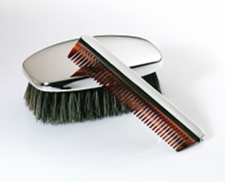 #88217 - Comb And Brush Sets by J. T. Inman #1357 MEN'S COMB & BRUSH SET